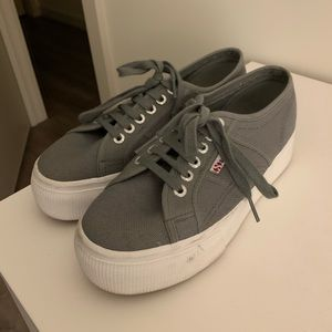 Superga (Thick Soles) - Size 8.5